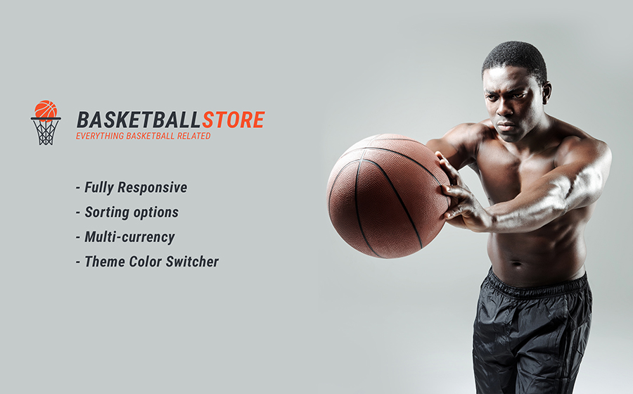 Basketbol Duyarlı Shopify Tema